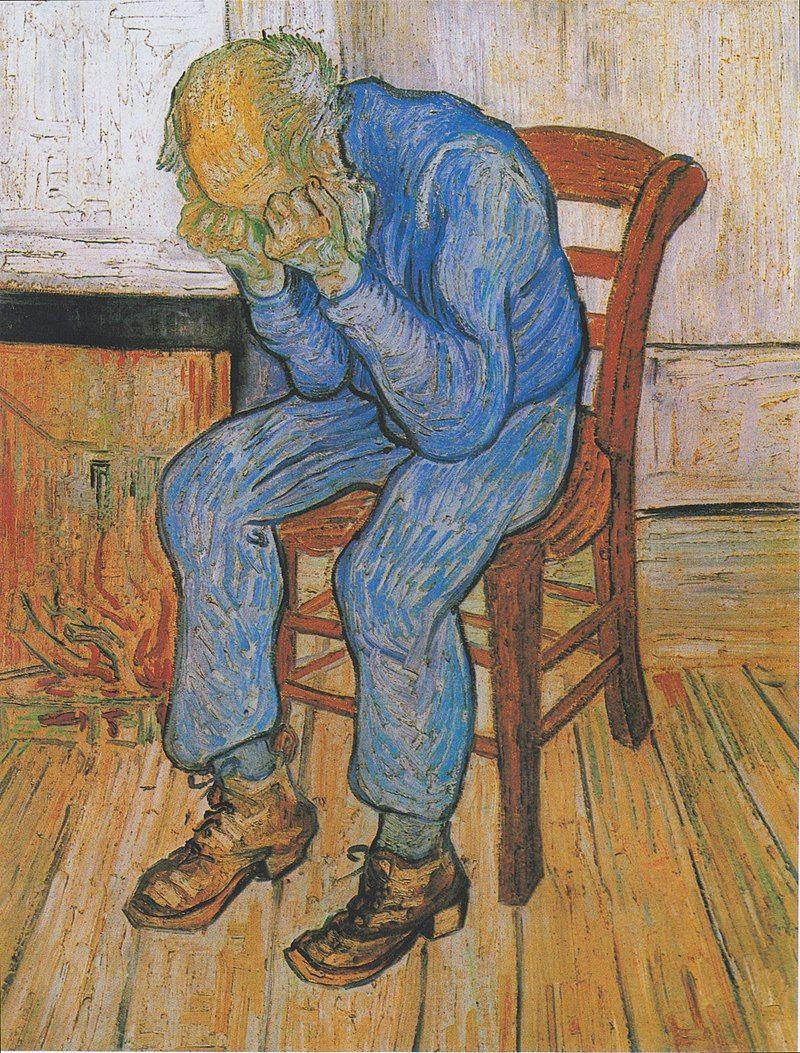 800px-Van_Gogh_-_Trauernder_alter_Mann