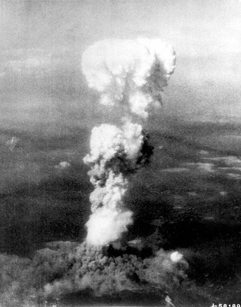 Atomic Explosion over Hiroshima