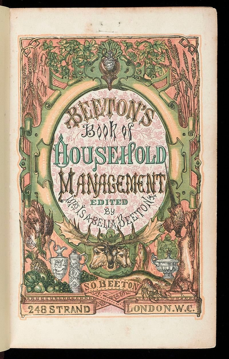 Title_page_of_'Household_Management'_Wellcome_L0042710