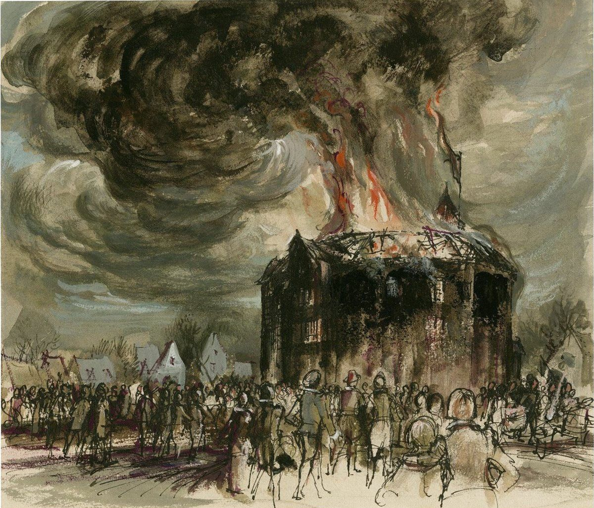 globe-theatre-burns-down