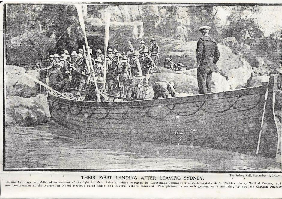 landing new britain