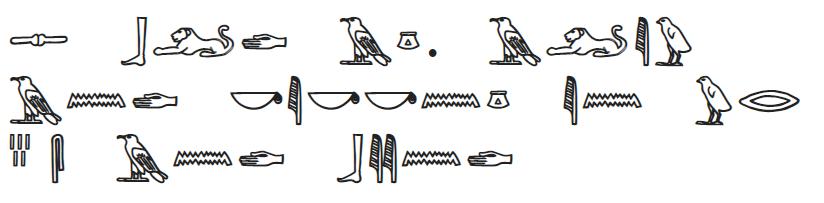 theboldage hieroglyphics